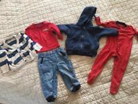 Boy's Clothes Bundle Size 9-12 Months