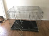 DOGS CAGE NEVER HAD BEEN Used