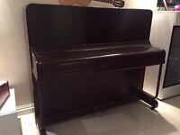Piano FIRTH, in Brown, much loved, works perfectly. No stool. 07411779151