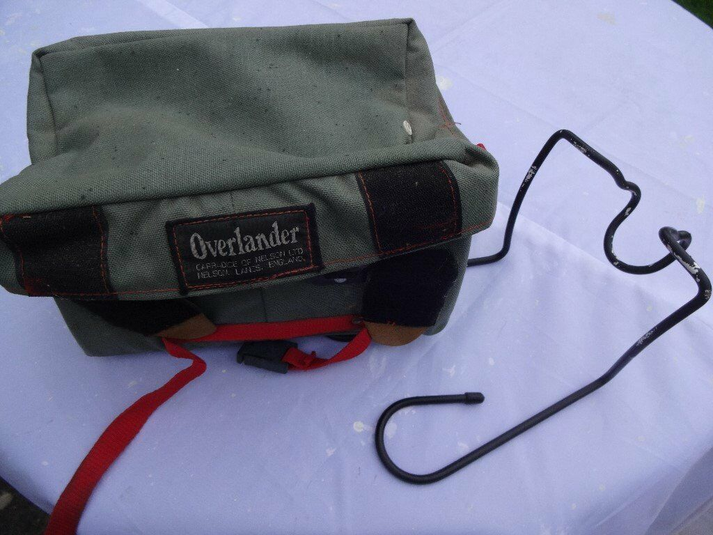 Handlebar bag and rack