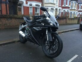 2016 Yamaha YZF R125 ABS Matte Grey, VERY RARE COLOUR, ALMOST NEW