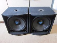 SkyTec 170.750 Professional Sub-woofer Bass Speakers 300 Watts Max
