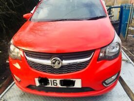 Vauxhall viva 2016 not recorded hpi clear salvage Damaged parts or put back on Road retailed at 9k