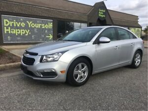 2016 Chevrolet Cruze LT / SUNROOF / LEATHER / HEATED SEATS