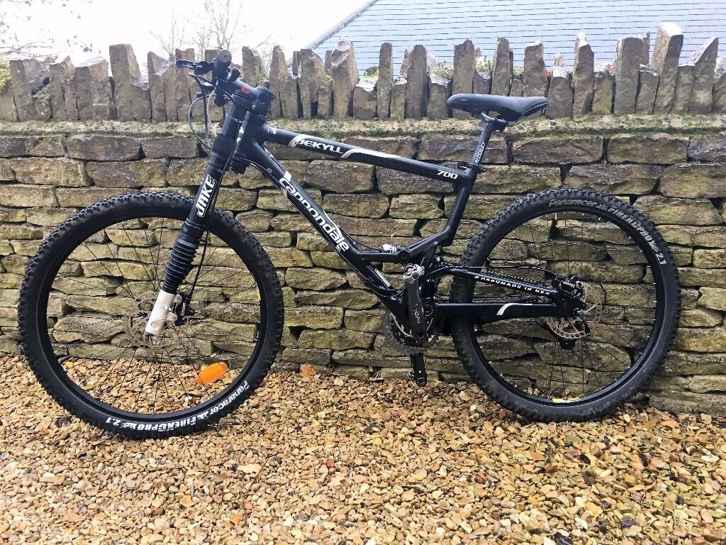 Cannondale Lefty Jekyll 700 Full Suspension Mountain Bike In
