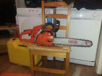 HUSQVARNA 353 chainsaw, 14inch chain,