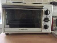 Cookworks oven, grill and hobs electric