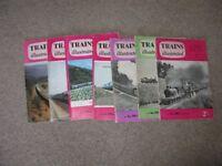 Trains Illustrated x 7