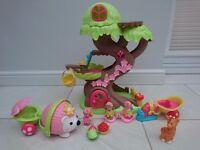 Happyland Fairy Tree House Set and Hedgehog Car
