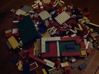 Lego - Over 1.5kg mixed used / vintage genuine lego
