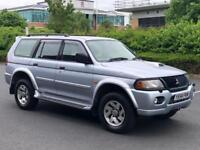 2005 Mitsubishi Shogun Equippe 2.5 diesel 4WD