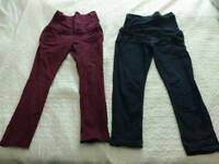 3 maternity trousers - £10