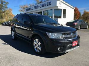 2012 Dodge Journey R/T AWD...3.6L, Moonroof, Leather, Chrome all