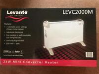 Mini convector heater