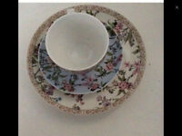 cup saucer and side plate
