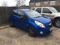 2010 CHEVROLET SPARK PLUS BLUE