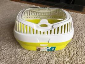 Aladino large pet carrier for small animals guinea pig ferret small rabbit mice yellow immaculate