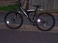 Boss Black Dawn Mountain Bike