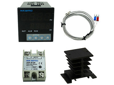 Inkbird Itc-106vh Digital Pid Temperature Controller Sensor Fan Fahrenheit C F