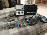 Kewtech KT65 Multifunction testers and KT77 PAT tester.
