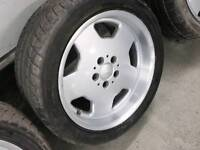 Mercedes alloy wheels 5x112 will also fit VW T4
