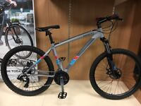 "Saracen Tufftrax Disc Mountain Bike - 17"" Frame"