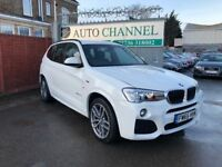 BMW X3 2.0 20d M Sport Sport Auto xDrive 5dr£21,495 p/x welcome FINANCE AVAILABLE!