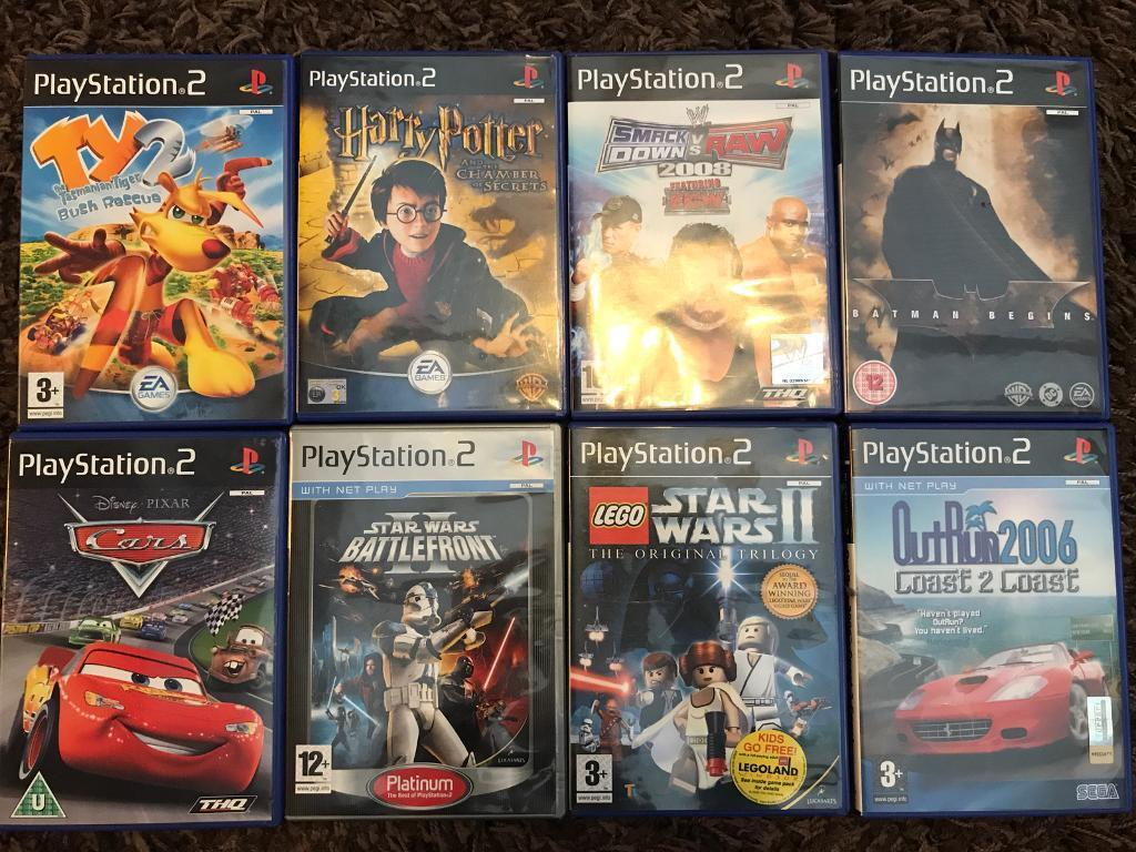 Play Station 2 Games x8
