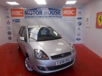 Ford Fiesta ZETEC BLUE(ONLY 34000 MILES)(FREE MOT'S AS LONG AS YOU OWN THE CAR!!!! (silver) 2009