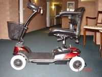 Eden Bootmaster Mobility Scooter 2013 model. Very good condition, can dismantle to fit in car boot.