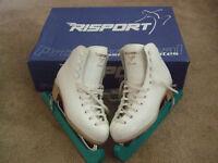Girls Risport Etoile figure skates size 13