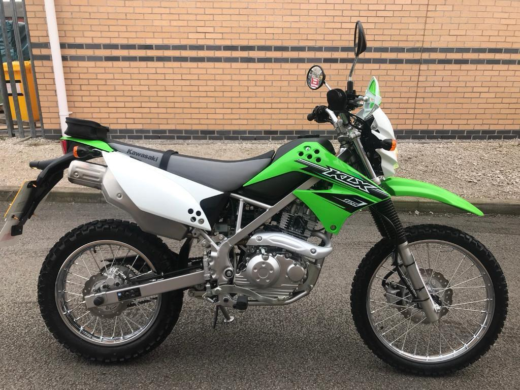 2017 Kawasaki Klx 125 Cgf Learner Legal Motorbike 1 Lady Owner 469 Miles
