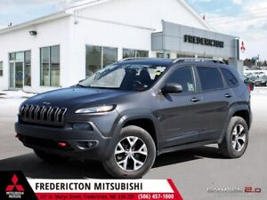 2014 Jeep Cherokee Trailhawk 4X4 | HEATED LEATHER | NAV | BAC...