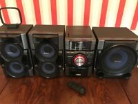 Sony Music Stereo System & Sub
