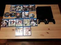 Ps4 with 16 games