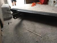 Ford transit back safe bar/steel bumper