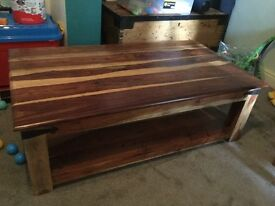 Good condition large coffee table.