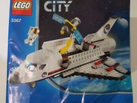 Lego City 3367 Space Shuttle plane - complete