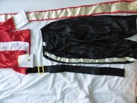 red & gold soldier / palace guard / Nutcracker costume, medium (122-134cm), prob suit 5-7 years