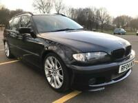 Bmw 325i msport touring black