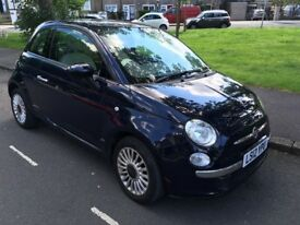 Rare Navy Blue, low mileage with full history FIAT 500L with A/C+Panroof+Start&Stop