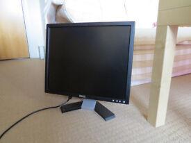 Job lot 4 flat screen monitors (2x 19 inch + 2x 17 inch) one is TV
