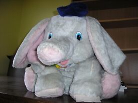 Disney Dumbo soft toy.