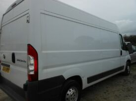 FIAT Ducato 130 Multijet High Roof 2.3 Diesel Panel Van, 135,000 miles
