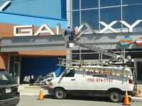 sign and light repairs and servicing