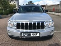 *LIMITED EDITION* 08 DIESEL GRAND CHEROKEE CRD, 4X4, FULL LEATHER, MOT MARCH 2018