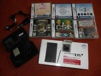 DSi console, games and accessory pack