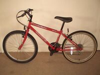 """Boys/Girls Cherokee Warrior (14"""" frame) Mountain Bike (suit 9+) (will deliver)"""