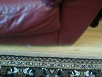 Leather 2 seater sofa Free To Collector