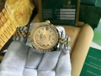 LADIES Rolex Datejust Golden Dial two tone
